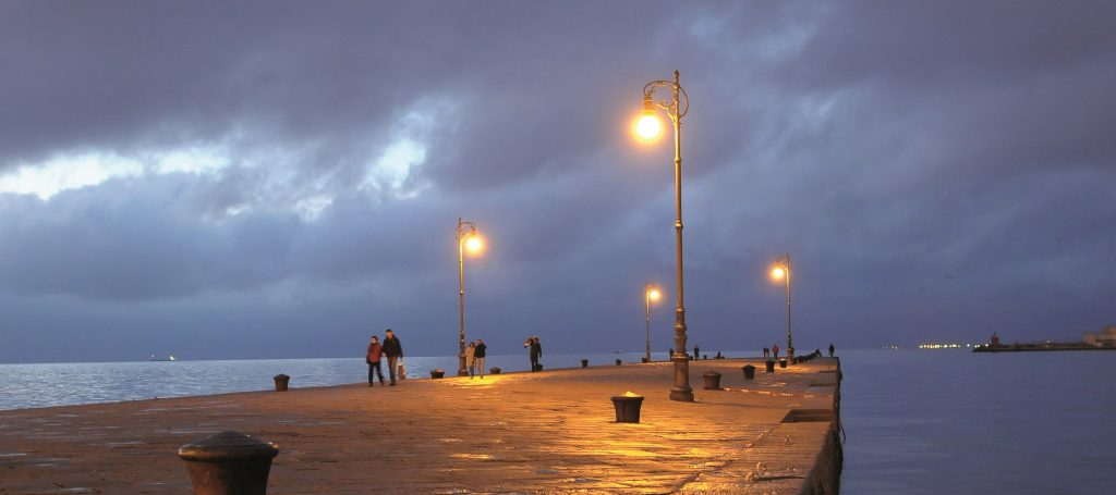 hera luce illuminazione sostenibile molo audace trieste